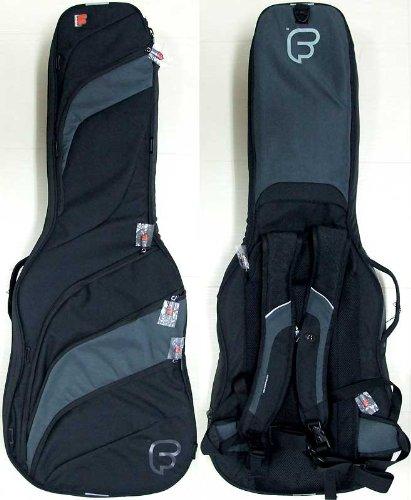 Fusion F2-11GLB Les Paul Guitar Bag - Black/Grey