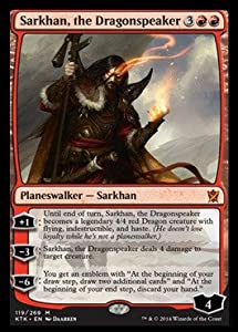Magic: the Gathering - Sarkhan, The Dragonspeaker (119/269) - Khans of Tarkir