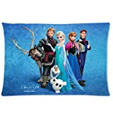 Frozen Disney 3D Cartoon Movie Custom Zippered Pillow Cases 20x30 (Twin sides)- Custom Paradise