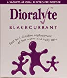 Dioralyte Supplement Replacement of Lost Body Water & Salts Sachets - Blackcurrant Flavour - 6 Sachets