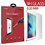 "Apple 12.9"" iPad Pro Screen Protector, iCarez® [Tempered Glass] Highest Quality Premium Easy Install With Lifetime Replacement Warranty - Retail Packaging 2015"