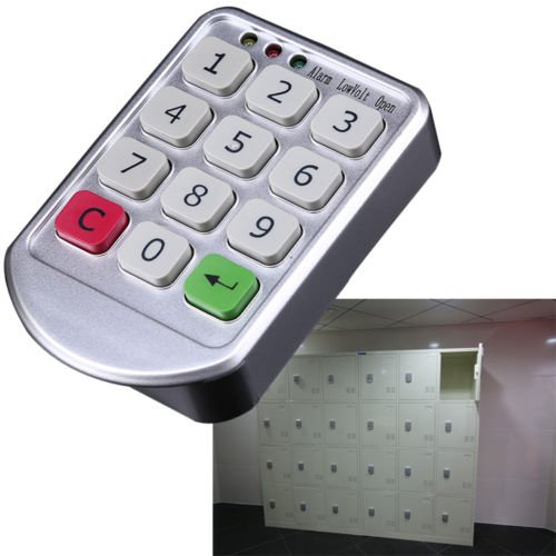 Whosee Electronic Digital Keypad Supermarket Cabinets Door Code Number Password Lock (Digital Locker compare prices)