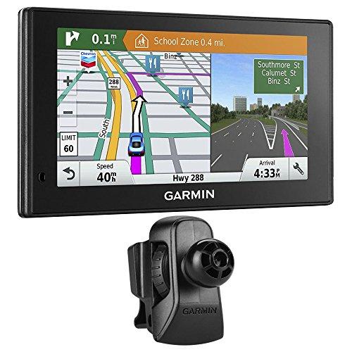 Garmin DriveSmart 60LMT GPS Navigator (010-01540-01) with Garmin Air Vent Mount (Traffic Condit compare prices)