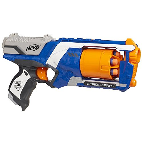Nerf N-Strike Elite: Strongarm Blaster (Colors may vary) - 1