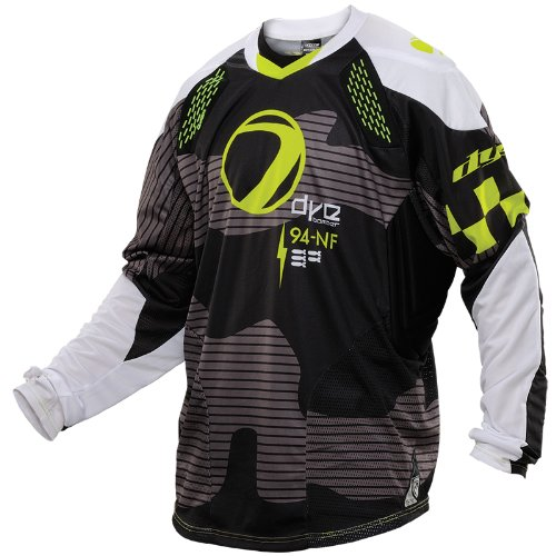 Dye C14 Paintball Jersey - Bomber Black/Lime - 2XLarge-3XLarge (Paintball Pants And Jersey compare prices)