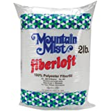 Mountain Mist Fiberloft Polyester Stuffing, 32-Ounce