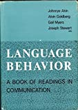 img - for Language Behavior book / textbook / text book