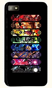 Beautiful multicolor printed protective REBEL mobile back cover for Blackberry Z10 D.No.N-T-1125-BBZ10