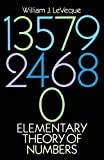 img - for Elementary Theory of Numbers (Dover Books on Mathematics) by William J. LeVeque (1990-06-01) book / textbook / text book