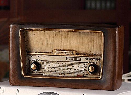 Retro do old vintage radio resin crafts--9827