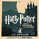 Harry Potter und der Gefangene von Askaban: Gesprochen von Rufus Beck (Harry Potter 3) Audiobook by J.K. Rowling Narrated by Rufus Beck