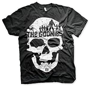 Officially Licensed Merchandise The Goonies Skull T-Shirt (Black)