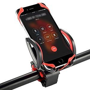 Elekin スマホホルダー 自転車スマホ GPSナビ・スマホ・iPhone固定用 自転車ホルダー