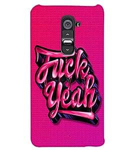 PRINTSWAG TEXT Designer Back Cover Case for LG G2