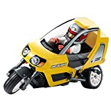 Tamiya 1/8 Scale R/C Vehicle Star Unit Triple Wheel Dancing Rider (Completed Model) (T3-01 Chassis) 47385 (Yellow Body Specification)?Japan Domestic Genuine Products??Ships from Japan? (Color: Yellow)