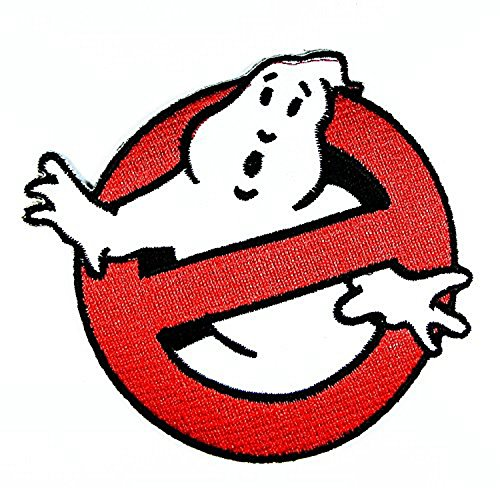 Ghost Busters Movie Logo I Embroidered Sew Iron on Patch