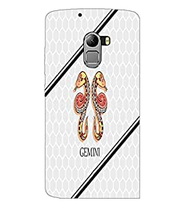 PrintDhaba Zodiac Gemini D-5802 Back Case Cover for LENOVO K4 NOTE A7010a48 (Multi-Coloured)