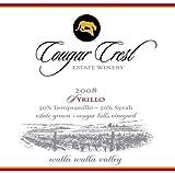 2008 Cougar Crest Syrillo Walla Walla Valley Cougar Hills Vineyard Estate 750 mL