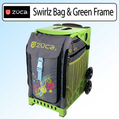Zuca sport bag - chevron with gift lunchbox and. It has 6 out side pockets, (in total), with two 7 in. it is perfect for ice skating, travel, school, or even a pet carrier.4/4(36).