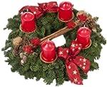Echter Adventskranz Weihnachtsglanz,...