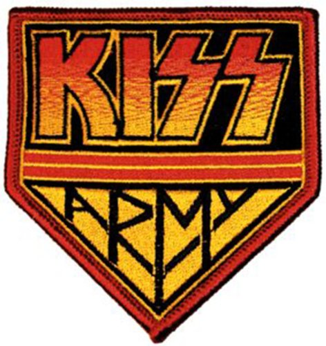 Application Kiss Army Logo Patch