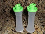 Tupperware Mini Hourglass Salt and Pepper Shakers
