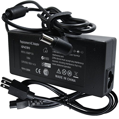Power Adapter Laptop Charger For Sony VAIO VGN-FW139E VGN-FW140E VGN-FW170J