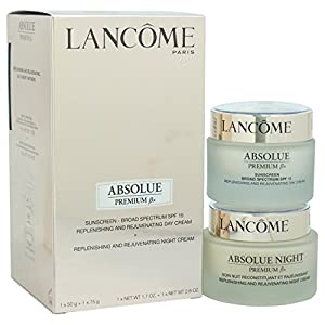 Lancome Absolue Premium Bx Replenishing and Rejuvenating Day-Night Partners Set, 2.6 Ounce