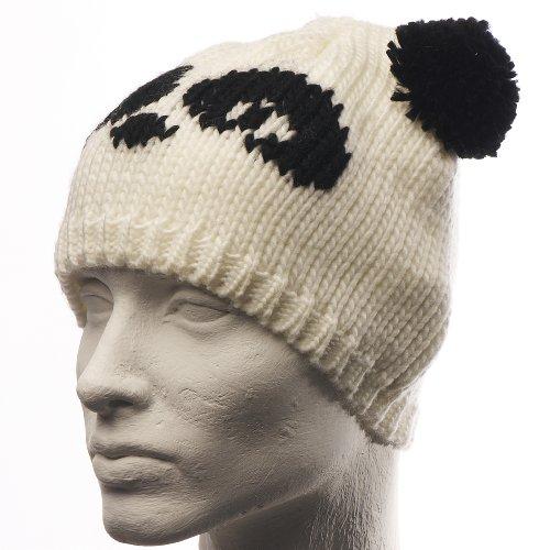FR - Bonnet Unisexe Animal - Couleur  Panda Blanc - Taille  Taille Unique 453031abc01
