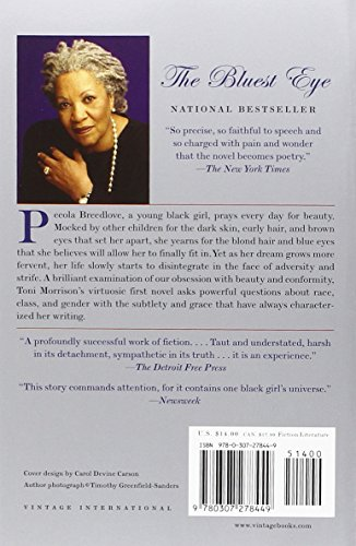 the meaning of beauty in the bluest eye by toni morrison Explanation of the famous quotes in the bluest eye, including all important speeches, comments, quotations, and monologues  the bluest eye by: toni morrison .