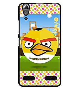 Fuson 2D Printed Cartoon Designer back case cover for Lenovo A6000 Plus - D4477