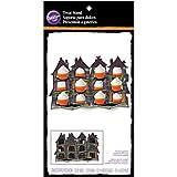 Wilton 1512-4503 Haunted House Cupcake Display, Assorted