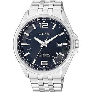 orologio solo tempo uomo Citizen Radio Controllati casual cod. CB0010-88L