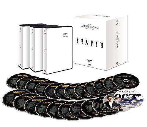 007 コレクターズDVD-BOX(23枚組)(初回生産限定) 007/スペクター収納スペース付