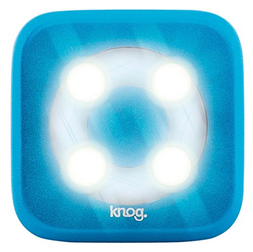 Knog Blinder Circle 4-LED Bicycle Head Light - w/White Light  rasha brand 2 100w 2in1 cob ww cw led blinder light stage audience studio blinder light theater light