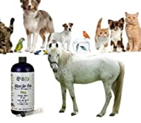 Silver for Pets-32 Oz-20 PPM Dietary Health Supplement - For Dogs, Cats, Birds, Fish, Horses and All Pets