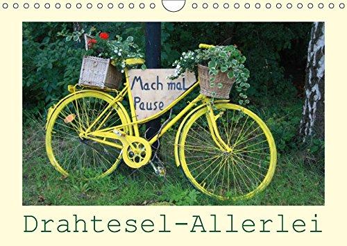 Drahtesel-Allerlei-Wandkalender-2017-DIN-A4-quer-Fahrrad-Variationen-von-ALT-bis-NEU-Monatskalender-14-Seiten-CALVENDO-Mobilitaet