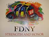 LEROY NEIMAN STRENGTH AND HONOR POSTER