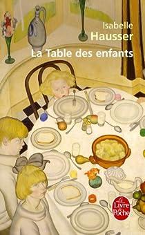 La Table des enfants par Hausser
