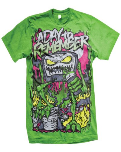 A Day To Remember - Killer B Sides T-Shirt Green (Medium)