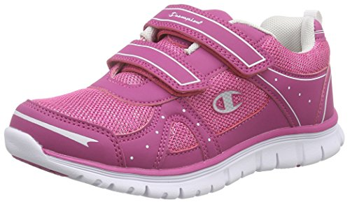 Champion Low Cut Shoe SHELLY 2 G PS, Scarpe Running Bambina, Rosa (Vivid Viola 3528), 35