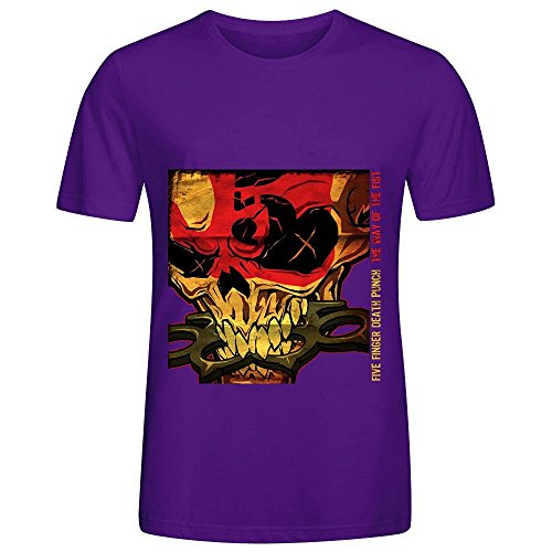 Five Finger Death Punch The Way Of The Fist Soundtrack Mens Crew Neck Short Sleeve T Shirt Purple (Cook The Turbo Way compare prices)