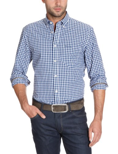 Marc O'Polo Men's 229 1376 42124 Casual Shirt Blue (821 Limoges) 54