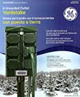 GE Outdoor 6 Ground Outlet Yard Stake