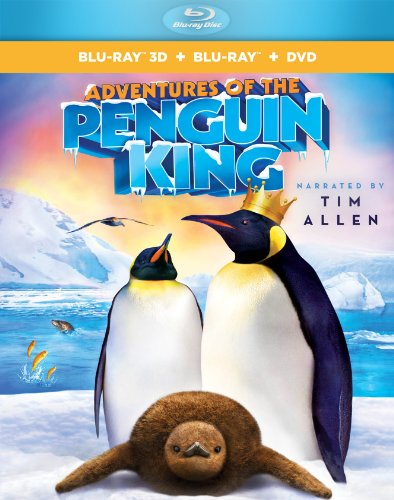 Adventures of the Penguin King 3D BD+DVD Combo [Blu-ray]