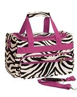 Womens Printed Duffel Bag (Zebra)