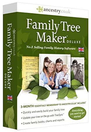 Family Tree Maker Deluxe - 2014 Edition (PC)