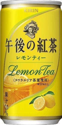 キリン 午後の紅茶 レモンティー 缶 (185g×20本)