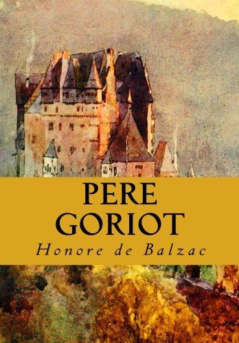 Père Goriot Critical Essays