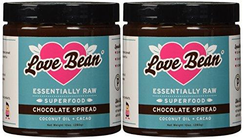 Love Bean Superfood Fudge Spread, Essentially Raw, 2-Pack